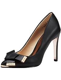 JENN ARDOR Damen High Heels Damen Spitz Stilettos Court Schuhe