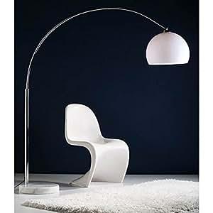 xtradefactory lampe sur pied courbe r tro big bow avec variateur d 39 intensit cuisine. Black Bedroom Furniture Sets. Home Design Ideas