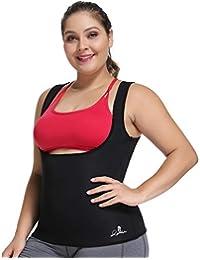 ae65ea2f1 Joyshaper Neoprene Slimming Sweat Vest For Weight Loss Women Waist Trainer  Fat Burner Top Thermo Tummy