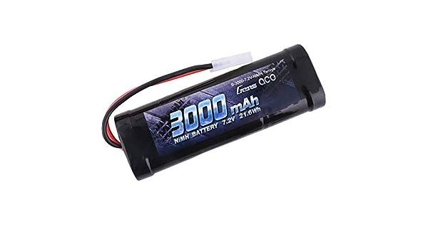 s NiMh 7.2 V 3000 mAh Gens ace B-3000-7.2V-NiMH-Tamiya Nombre de cellules: 6 Stick Tamiya 1 pc Pack de Batterie