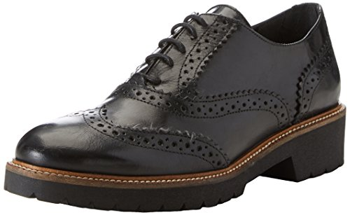 Cinti Damen 3714 Brogue-Schuhe Nero (Nero)