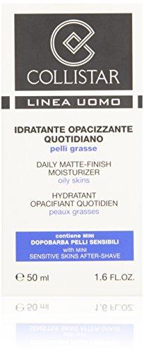Collistar - Uomo, Idratante Opacizzante Quotidiano 50 ml e Dopobarba 15 ml - 1 confezione