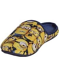 MINIONS - Zapatillas de estar por casa para niño Amarillo amarillo