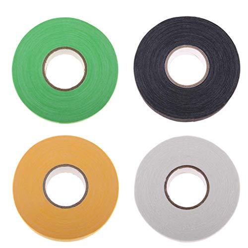 Tubayia 4 Rollen Wasserdicht Eishockey Klebeband Hockey Stick Tape Hockeyschläger Tape