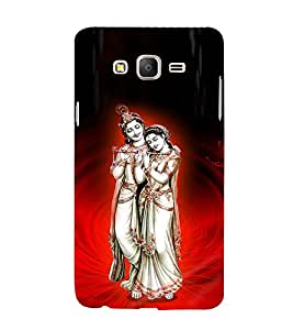 Satyavrata Krishna 3D Hard Polycarbonate Designer Back Case Cover for Samsung Galaxy On7 Pro :: Samsung Galaxy ON 7 Pro