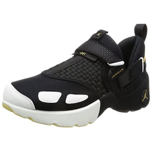 Jordan Nike Mens Trunner LX BHM Black/Gold-White Neoprene