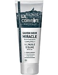 La Corvette Savon Noir Miracle à l'Huile d'Olive Ecocert 250 ml