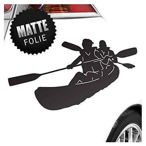 Preisvergleich Produktbild Kiwistar Kajak - Kanus - Doppelpaddel Aufkleber Sticker 25 Farben Neon Matt