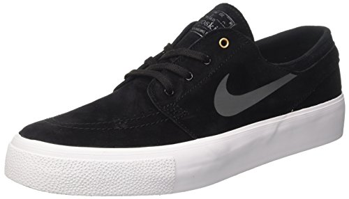 Nike Herren Zoom Stefan Janoski HT Skateboardschuhe, Schwarz (Black/Dark Grey-Metallic Gold-White), 43 EU