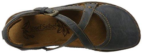 Josef Seibel Damen Rosalie 13 Geschlossene Sandalen, Blau (Jeans), 37 EU -