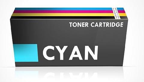 Prestige Cartridge Dell 1250 Cartouche de Toner pour Dell 1250c/1350cnw/1355cn/1355cnw/C1760/C1760nw/C1765/C1765nfw - Cyan