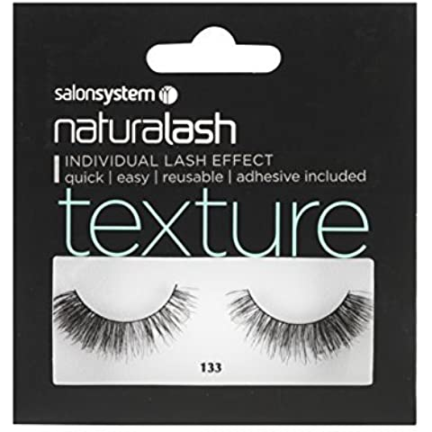 salonsystem Naturalash 3D Corner Boost Texture Mascara Number 133, Black