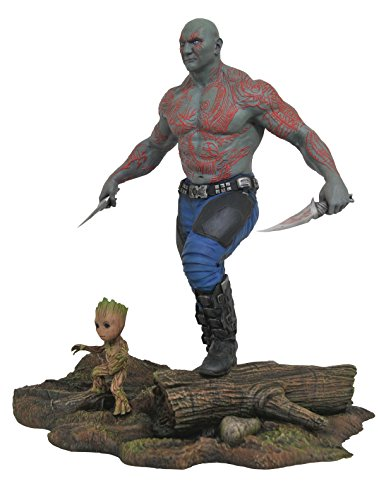 Marvel Comics may172524 Marvel Galerie Guardians Of The Galaxy 2 Drax Spielfigur mit und Baby Groot PVC Figur
