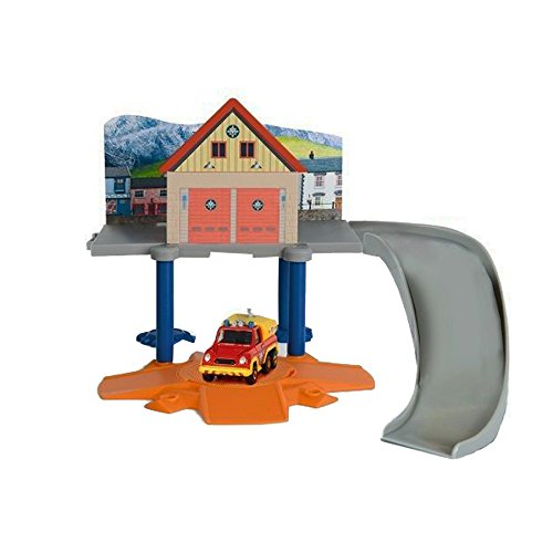feuerwehrstation dickie Dickie Toys 203099619 - Feuerwehrmann Sam Mini-Rescue Set, Feuerwehrstation