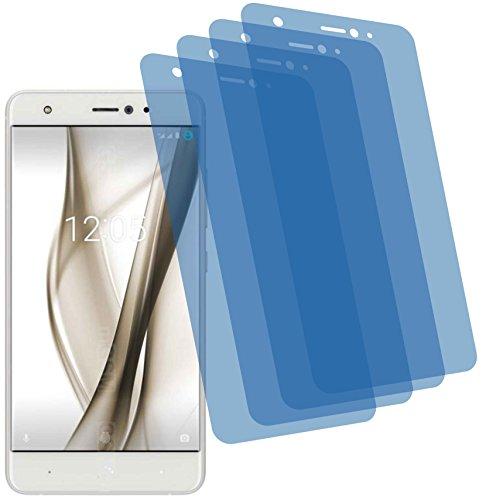 4X ANTIREFLEX matt Schutzfolie für bq Aquaris X Pro Premium Bildschirmschutzfolie Displayschutzfolie Schutzhülle Bildschirmschutz Bildschirmfolie Folie
