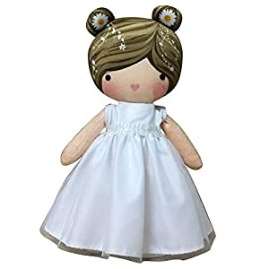 ARTEMODEL- cojin niño azúl comunión muñeca, (1)