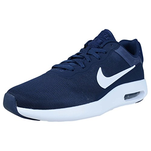 Nike 844874, Scarpe da Ginnastica Basse Uomo Midnight Navy White