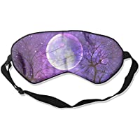 Purple Art Moon Sleep Eyes Masks - Comfortable Sleeping Mask Eye Cover For Travelling Night Noon Nap Mediation... preisvergleich bei billige-tabletten.eu