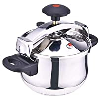 STAINLESS STEEL PRESSURE COOKER 9 LTR MADE IN ITALY