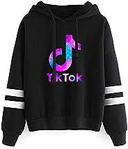 BTS-UAE Women TIK TOK Graphic Hoodies Costumes Tiktok Long Sleeve Pullover Sweatshirt