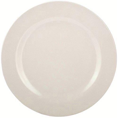 Zakdesigns 1313-0351 BBQ Assiette Plate Mélamine Blanc 45 x 35 x 25 cm