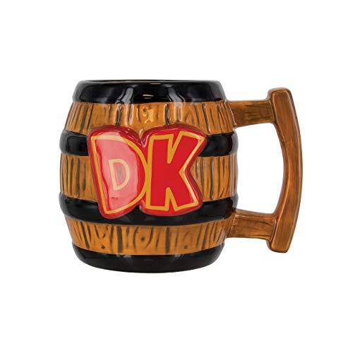 Donkey Kong Shaped Mug, Ceramic