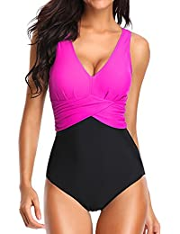 Amazoncouk Pink Swimwear Women Clothing