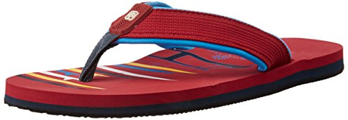 Woodland Men's Red Flip Flops Thong Sandals - 7 UK/India (41 EU)  available at amazon for Rs.322