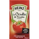 Heinz Coulis de Tomates la Brique 520 g - Lot de 4