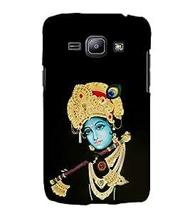 FUSON Krishna Playing Basuri 3D Hard Polycarbonate Designer Back Case Cover for Samsung Galaxy Core I8260 :: Samsung Galaxy Core Duos I8262