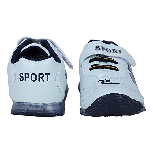 Rangoli Fashions Casual and Sports Shoe for Baby Boy and Baby Girls in Color Navy Blue (0-6 Month, Navy Blue)