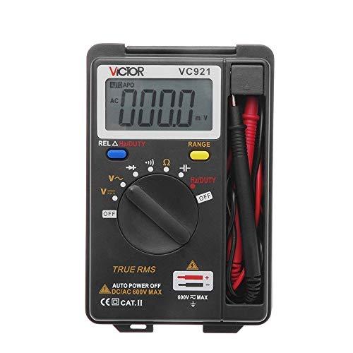 Multimètre numérique, Ohm Volt amp et diode de mesure du testeur de tension outil compteur d'essai électronique