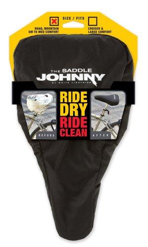 White Lightning Sattel Johnny Bike Sitz Displayschutzfolie, klein/mittel