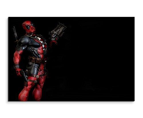 Deadpool the Video Game Wandbild 120x80cm XXL Bilder und Kunstdrucke auf Leinwand (Video Game Sales)