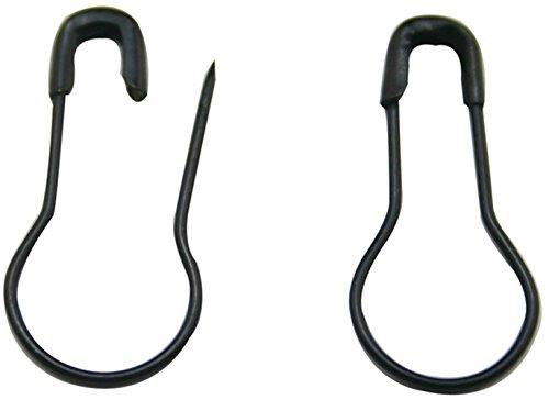 TININNA Schwarz Birnenform Metall Sicherheitsnadeln Sicherheits Nadel Nadeln 300 Stück EINWEG Verpackung