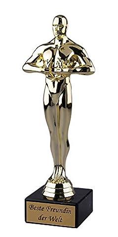 Coupe/Cadeau meilleure Petite copine du monde–Viktor–24cm–Idée Cadeau Figurine de