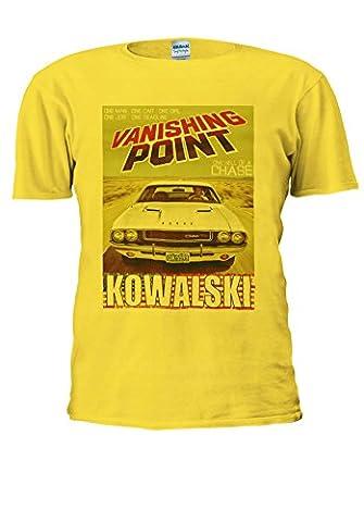 Dodge Challenger RT 440 Magnum Kowalski Vanishing Men Women Unisex Top T Shirt-XL