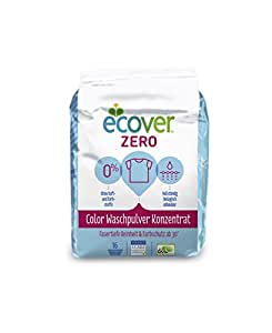 Ecover Zero Waschpulver Sensitive Color, 4er Pack (4 x 16 WL)