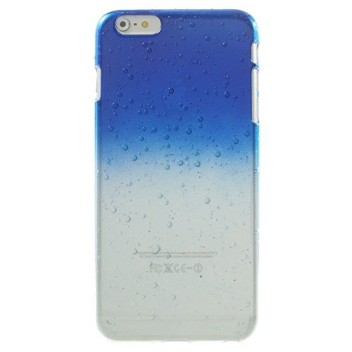 iPhone 6S Plus Fall, iPhone 6 Plus, fogeek 3D Wassertropfen Farbverlauf Farbe Kunststoff Hard Cover Fall für iPhone 6S Plus/6 PLUS, plastik, orange, iphone 6 Plus.iphone 6s Plus dunkelblau