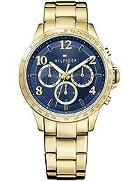 Tommy Hilfiger Damen-Armbanduhr Sophisticated Sport Analog Quarz Edelstahl beschichtet 1781643