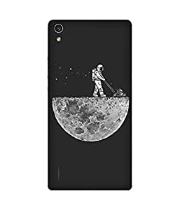 Moon Gardening Huawei Ascend P7 Case