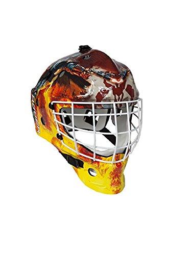 Bauer Start Wars NME Inlinehockey Maske Helm für Straßenhockey für Erwachsene, Sport & Freizeit - Boba Fett