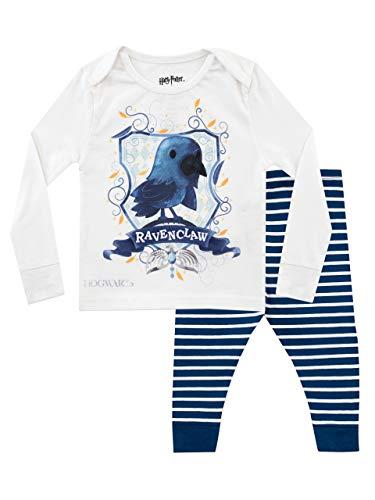 Harry Potter Jungen Ravenclaw Schlafanzug Slim Fit Blau 98 (Harry-potter-baby)