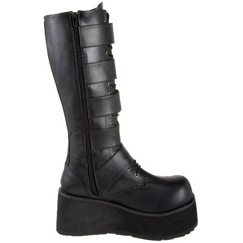 Demonia Trashville-518, Bottes Classiques homme Noir (Blk Vegan Leather)