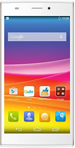 Micromax Canvas Nitro 2 E311 (White-Gold)