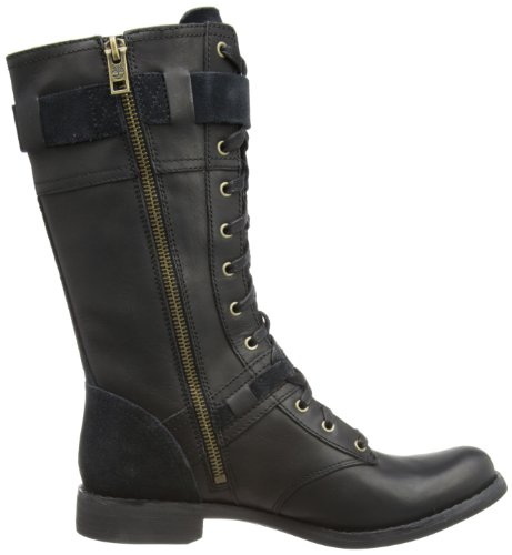 Timberland  Savin Hill FTW_EK Savin Hill Mid Boot, bottines classiques femme Black Leather