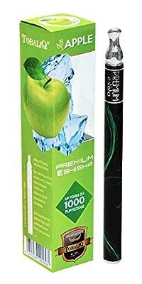 Premium e-shisha - Ice Apple - 1.000 Züge, nikotinfrei von Premium24