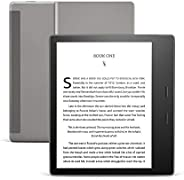 "All-New Kindle Oasis (10th Gen) - Now with adjustable warm light, 7"" Display, 8 GB, WiFi (Grap"
