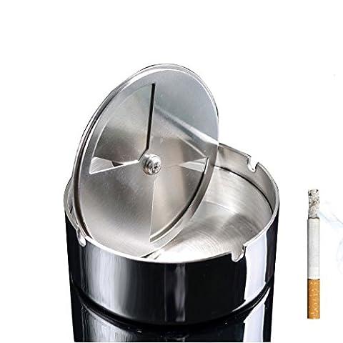 Ashtray Moderne Cendrier Cigarette Cendrier pour fumeur d'extérieur et al'intérieur, Bureau Cigare Cendriers pour Home Office Décoration ,Cadeau de fête des pères by SHOME