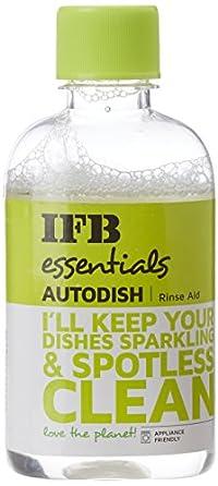 IFB Essentials Autodish Rinse Aid Ultraclean Rinse Aid - 200 ml